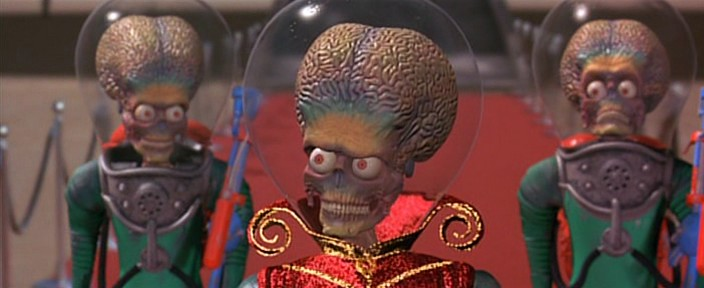 Amazoncom Mars Attacks! Jack Nicholson Pierce Brosnan